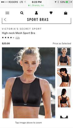 0078805ecafc7 High-neck Mesh Sport Bra - Victoria s Secret Sport - Victoria s Secret -  Tap the pin if you love super heroes too! you will LOVE these super hero  fitness ...