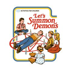 Check out this awesome 'Let's Summon Demons' design on @TeePublic!