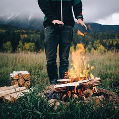 SANBORN CANOE Co. Fall is for campfires! San Juan Mountains. Photo by @vancrafted Check out more of their adventures!