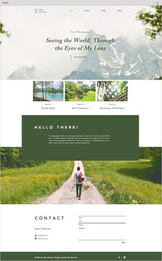 Travel Photographer Website Template - Wix Website - The easiest way to create a. - Travel Photographer Website Template – Wix Website – The easiest way to create a website. Travel Website Design, Website Design Layout, Web Layout, Sample Website Design, Website Design Inspiration, Maquette Site Web, Portfolio Webdesign, Outdoor Reisen, Design Responsive