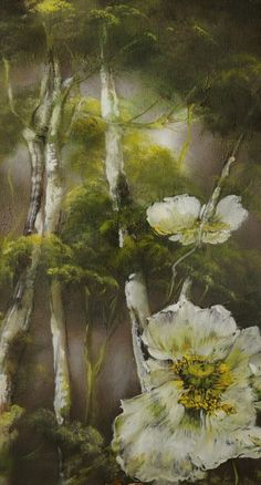 PAINTING – Claire BASLER Tree Watercolor Painting, Abstract Art Painting, Art Painting, Mural Painting, Floral Painting, Floral Art, Painting, Watercolor Flowers, Watercolor Paintings Abstract