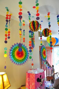 Birthday crafts on pinterest party blowers birthday for Craft ideas for birthday parties