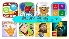 Free Apps for Kids: LEGO® Hero Factory, Sign Language, + More for iTunes and Android!