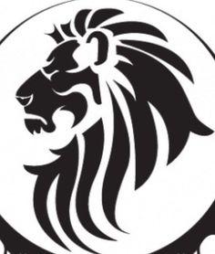 Tattoo lion tribal animals 23 ideas for 2019 Lion Silhouette, Silhouette Clip Art, Hai Tattoos, Body Art Tattoos, Tribal Lion Tattoo, Tattoo Bird, Colorful Bird Tattoos, Tribal Drawings, Deco Cuir