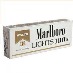 Marlboro Lights 100's carton