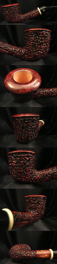 2014 Dark Coral Christmas Pipe