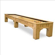 Remington Shuffleboard Table #Shuffleboard