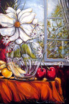 Daniel Vincent, l'artiste aux cerises Daniel Vincent, Apple Art, Colored Pencil Techniques, Paintings I Love, Kitchen Art, Art Boards, Colored Pencils, Flower Art, Still Life
