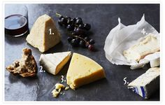 No feast would be complete without cheese, which we'd take over a piece of cake pretty much any day. An ideal post-meal cheese plate with wine to compliment.