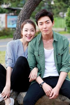 Kim Jae Wook and So Yi Hyun Playfully Pose for Couple Pics for Who Are You Asian Actors, Korean Actors, Park Hae Jin, W Two Worlds, Korean Drama Movies, Korean Dramas, Park Min Young, Korean Entertainment, Drama Korea