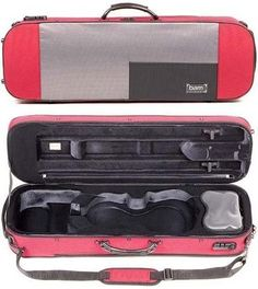 Bam Stylus 5001S 44 Violin Case with Red Exterior and Silver Interior ** You can find more details by visiting the image link.Note:It is affiliate link to Amazon.