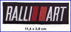 Mitsubishi Ralliart Motorsport Racing Team DIY Embroidered Sew Iron on Patch *** More info could be found at the image url.