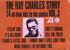 1963 Lp Ray Charles THE RAY CHARLES STORY VOLUME 3 On Atlantic 8083.. Ray Charles was the musician most responsible for developing soul music. Singers like Sam Cooke and Jackie Wilson also did a great deal to pioneer the form, but Charles did even more to devise a new form of black pop by merging '50s R&B with gospel-powered vocals, adding plenty of flavor from contemporary jazz, blues, and (in the '60s) country.