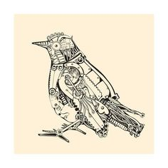 Find Metal Bird stock images in HD and millions of other royalty-free stock photos, illustrations and vectors in the Shutterstock collection. Steampunk Bird, Steampunk Design, Victorian Steampunk, Steampunk Costume, Steampunk Clothing, Steampunk Fashion, G Dragon, Robot Bird, Steampunk Accessories