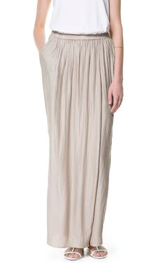 Image 3 of FLOWING SARONG TROUSERS from Zara