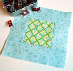 The Patchsmith: Simple Square Sampler Quilt Block