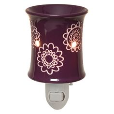 Daisy Craze is one of my favorite plug in warmers! A deep plum will off set any room nicely.   www.secha.scentsy.us www.facebook.com/sechas.scents