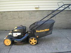 Poulon Pro 6.75HP self propelled lawnmower MINT Condition - $225 (Oceanside) Garden Supplies, Lawn Mower, Garden Furniture, Outdoor Power Equipment, Conditioner, Mint, Ads, York, Lawn Edger
