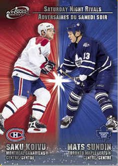 Canadian Hockey Cards Inserts Rookie Cards for sale - finish your sets here. Hockey Cards, Baseball Cards, Ice King, Hockey Players, Mcdonalds, Montreal, Big, Sports, Hs Sports