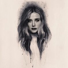 Turkish Women Beautiful, Beautiful Arabic Words, Girly Tattoos, Turkish Actors, Color Splash, Art Girl, Instagram Story, My Idol, Art Drawings Sketches