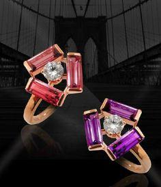 Tribeca Earrings by Mathon Paris