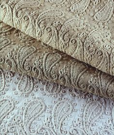 Paisley Embroidery, Quilt