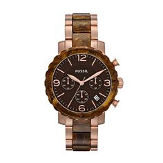 Fossil Natalie Stainless Steel Watch – Two-Tone