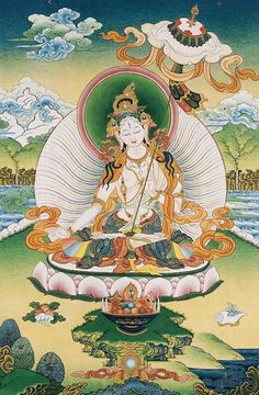 I will strive to help all beings who cross my path To walk with them on Love's journey from life to life, Hand in hand to search with them through the   deep reaches of space,  Holding myself from final awakening until the time of realization that all are one White Umbrella Tara