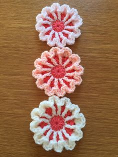 Ravelry: March Flower pattern by Ali Crafts Designs