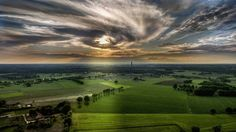 ____________________________________________________________________ #bakel #eyeofsauron #clouds #sunset #sun #scenery #beautiful_day #lowlands #dutch #colourful #colour #green #fields #aerial #netherlands #thursday #drone #dji #pictureoftheday #brabant #beautiful #amazing #view #fullsizephoto #art #photographer #raw #milheeze #eye #europe by picdrone.nl