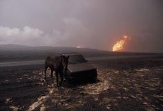 Gulf War, 1991.  [Credit:Bruno Barbey]