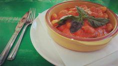Fresh tomato gnocchi