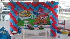 Decoração  para Festa Super Wings