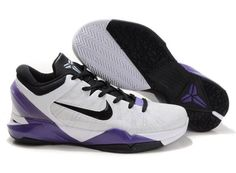 half off c4c38 822f1 Nike Zoom Kobe 7 White Black Varsity Purple , Price   79.95