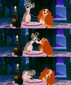 Disney Challenge Lady and the Tramp is the best movie of the golden age. Arte Disney, Disney Magic, Disney Art, Disney Movies, Disney Dogs, Old Disney, Wallpaper Iphone Disney, Cute Disney Wallpaper, Disney And Dreamworks
