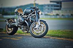"""BMW R Nine T custom, """"Clubman Racer"""" by 46 Works."""