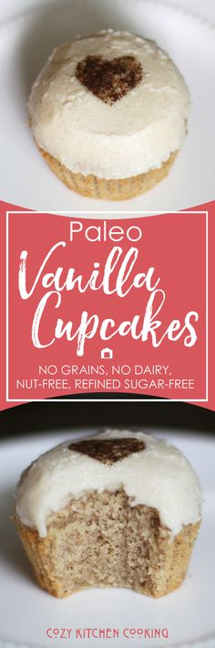If you're looking for a vanilla cupcake recipe that's paleo and allergy-friendly (free of grains/gluten, dairy, nuts, and refined sugar) but could fool anyone with their amazing flavor and texture!