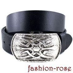 Ein perfektes Set für Ihre Jeans Ledergürtel und Wechselschnalle Aaron Belt, Jeans, Accessories, Fashion, Silver Jewellery, Metal, Belts, Moda, Fashion Styles