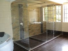 Shower Cubicles, Glass Shower, Shower Doors, Alcove, Africa, Bathtub, Bathroom, Standing Bath, Washroom