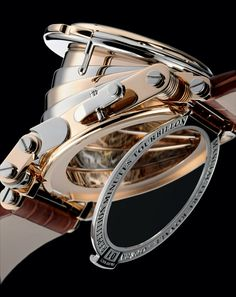 OP50.0805P Manufacture Royale часы - реклама - OPERA Minute repeater tourbillon Rose and White gold