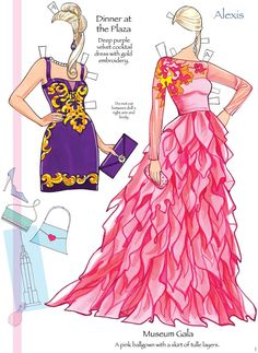Fashion Model - Alexis 2 from Dover Publications