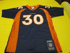 NFL Denver Broncos Terrell Davis #30 Vintage Jersey by Reebok, youth L #Reebok #DenverBroncos