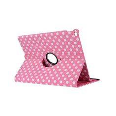 Tablet Dot Case For iPad 2 3 4 Case 360 Rotation PU Leather Case for Apple Smart Cover iPad 2 3 4 Flip Case with Stand Function
