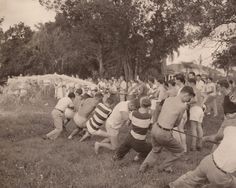 Tug of War Challenge Vintage Photography by BettywasaBombshell