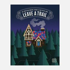 This made me think of my Daughter. She is definitely not a follower she is a trailblazer.                           Leave A Trail now featured on Fab.