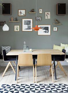 Wat krijg je als je een stilist en een meubel-maker met buitenhuis-ambities vrij spel geeft in een stadsappartement in Kopenhagen?