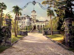 {The Dungeness Estate on Cumberland Island, GA}