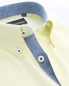 The lemon basket shirt with anchor print contrast a perfect mix of luxury and… Formal Shirts, Casual Shirts, Italian Shirts, Mens Designer Shirts, Classy Men, Men Formal, Dapper Men, Plain Shirts, Mens Fashion