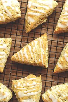Vegan Lemon Poppy Seed Scones - these turned out delicious! I swapped Earth Balance sticks for the coconut oil though, because I prefer the flavor and find it easier to measure.