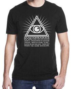 Men's Occult Etymology T Shirt